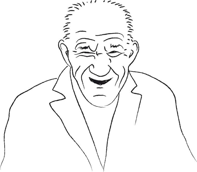 Zenek - dziadek z Mięsnej, najbardziej znany klubowicz