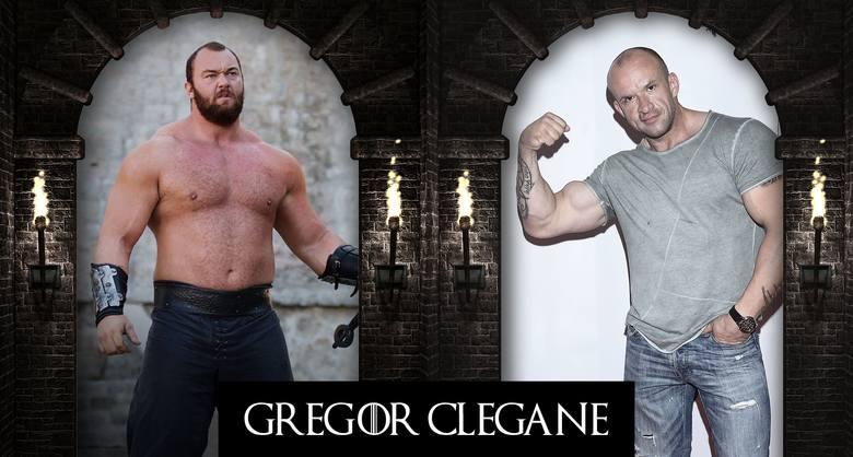 Gregor Clegane: Tomasz Oświeciński