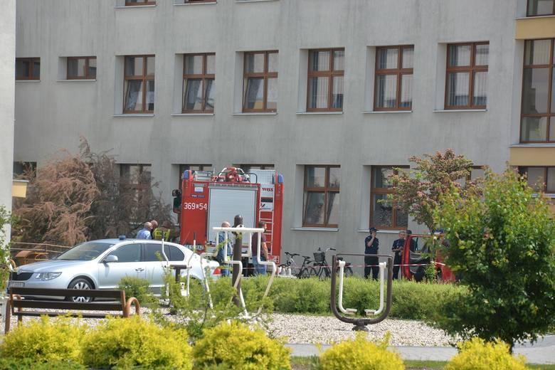 Strzały w szkole w Brześciu Kujawskim. Dwie osoby ranne