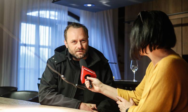 """Gość Nowin Leszek Lichota: W trzeciej serii """"Watahy"""" już nie wyglądam jak bieszczadzki zakapior"""