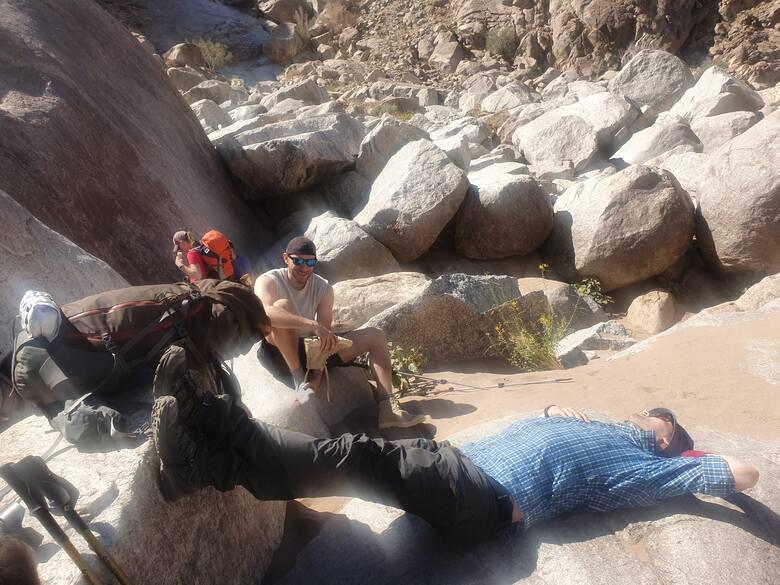 Odpoczynek. Fish River Canyon