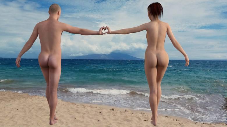 10. Plaża nudystów Dźwirzyno-GrzybowoPas plaży zaanektowany przez golasów ma ok. 4 km długości. Jest tu spokojnie, plaża jest dość szeroka, osłonięta
