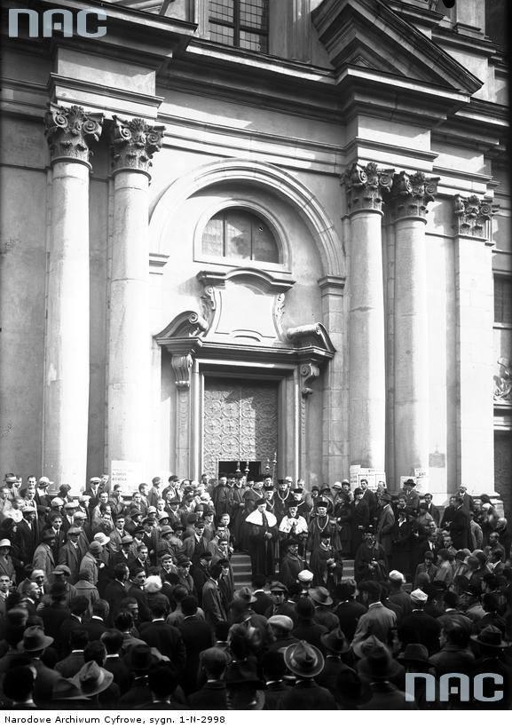 Inauguracja roku akademickiego na archiwalnych zdjęciach