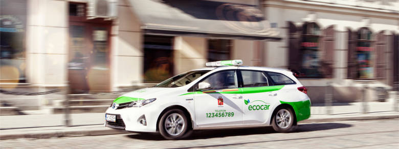 Hybrydowe taksówki EcoCar S.A. wkraczają do Trójmiasta od czwartku [CENNIK]