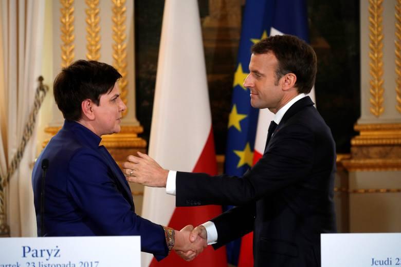 Zmienia się klimat w Europie. I zmienia stosunek Macrona do Polski