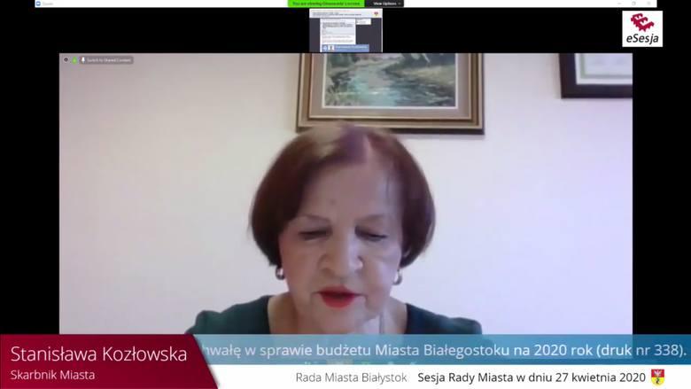 Skarbniczka miasta Stanisława Kozłowska stwierdziła, że nie widzi przeciwwskazań. <br />