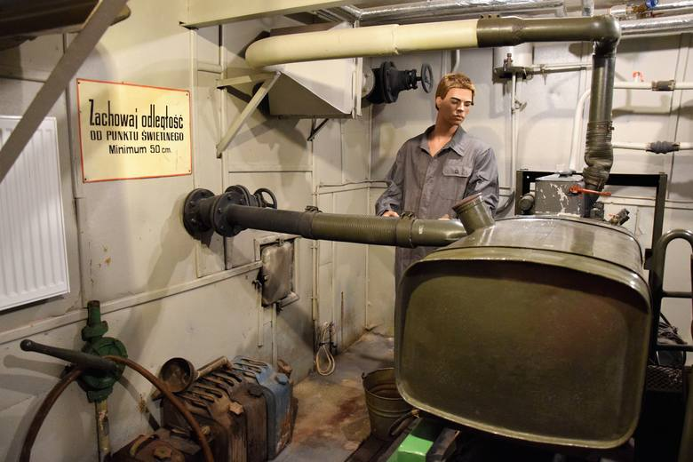 Schron kierowania obroną cywilną Przemyśla do niedawna był tajnym obiektem. Teraz jest dostępny dla turystów.