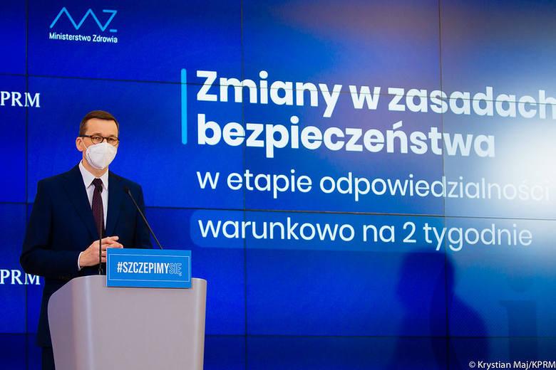 Od 1 marca w Polsce ma zostać przywrócona część obostrzeń, jakie obowiązywały do połowy lutego. Wprowadzony zostanie także zakaz zastępowania maseczek