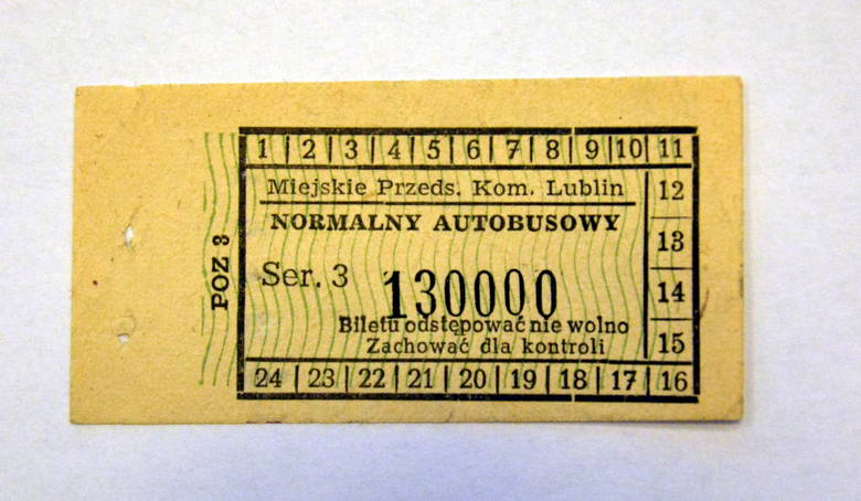Historyczne bilety z kolekcji Zbigniewa Nestorowicza.