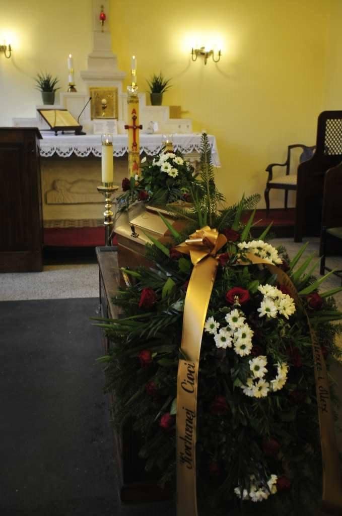 Pogrzeb prof. Ireny Kałuży, córki legendy Cracovii - Józefa Kałuży