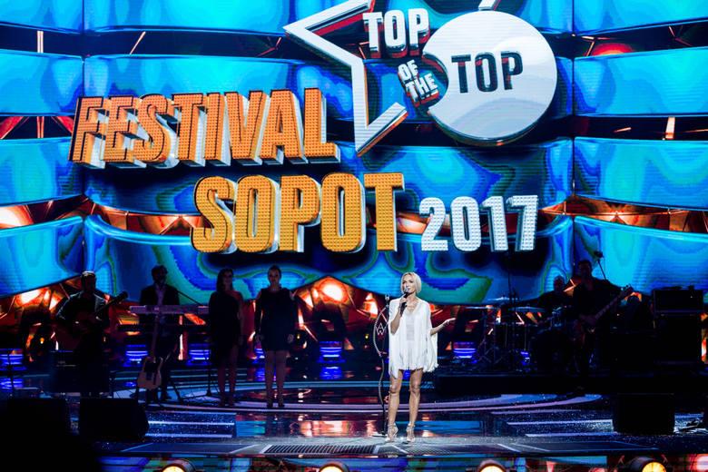 19 08 2017 sopot. top of the top festival w operze lesniej w sopocie n/z anna wyszkoni fot. piotr hukalo / dziennik baltycki / polska press