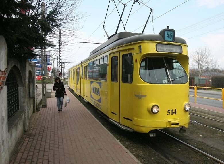 MKT organizowała kursy tramwaju linii 46 z Łodzi do Ozorkowa