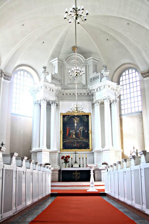 Wnętrze kościoła Trójcy Świętej w Lublinie