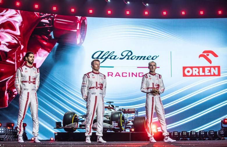 """Alfa Romeo Racing ORLEN pokazała bolid w Polsce! Kubica: """"To wielki dzień dla polskich kibiców"""""""