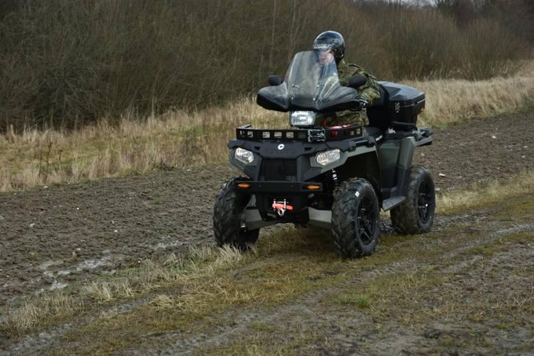 14 nowych quadów będzie patrolować granicę (zdjęcia)