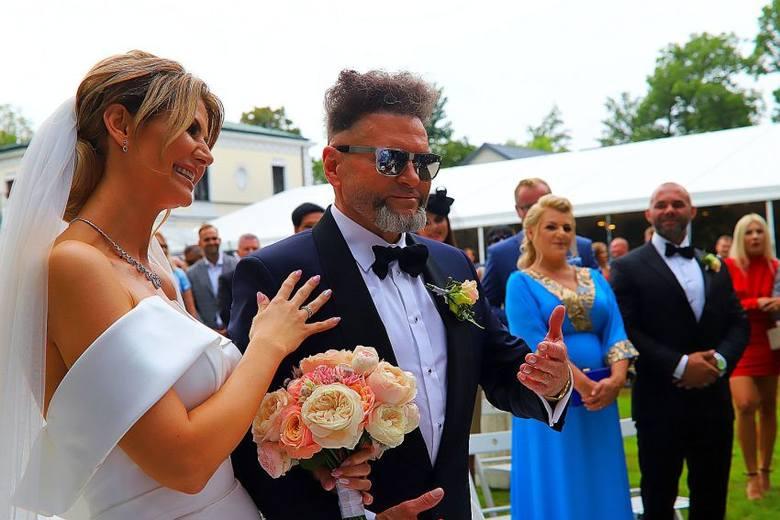 Ślub Krzysztofa Rutkowskiego z Mają Plich