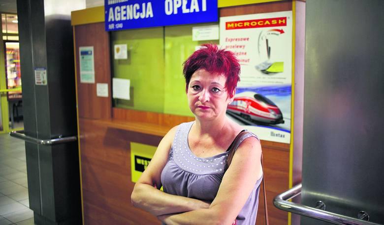"""Anna Siemieniec, jedna z poszkodowanych. Straciła na """"Złotówce"""" 480 zł."""