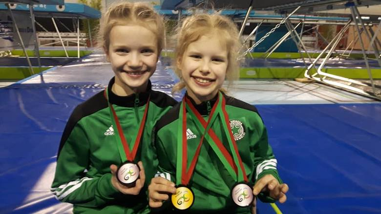 Aż osiem medali zdobyły na międzynarodowym turnieju w Cascais przedstawicielki Gwiazdy Dobrzeń Wielki. Trzy z nich były złote. Indywidualnie na najwyższym