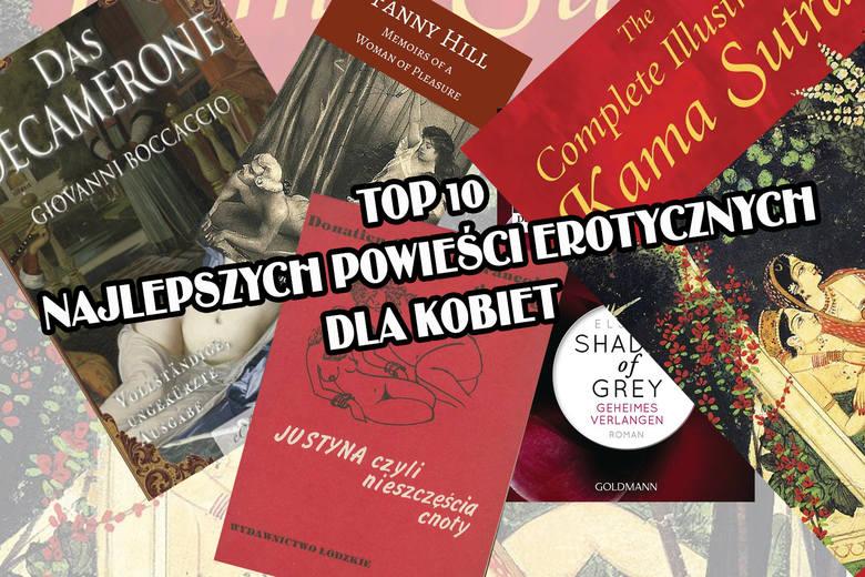 Najlepsze powieści erotyczne dla kobiet [TOP 10]. Zobaczcie listę najbardziej poczytnych naszym zdaniem 10 powieści erotycznych dla kobiet ale nie tylko.
