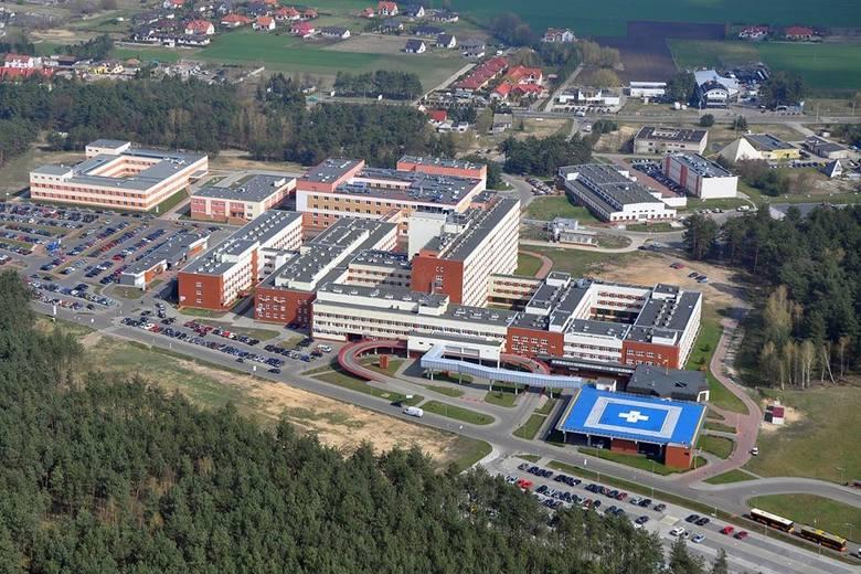 Szpital w Grudziądzu na linii frontu. Ratując życie, uratuje siebie?