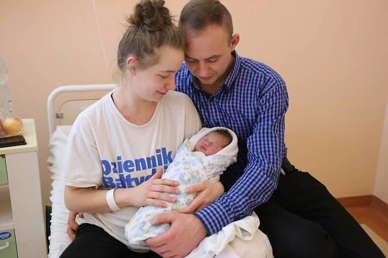 Nadia urodziła się 1 stycznia 2020 r., o godz. 6.05. Ma 48 cm i waży 2,8 kg.