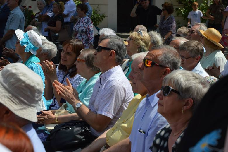 Setki osób śledziło wystąpienie prezydenta Andrzeja Dudy w ramach obchodów 58. rocznicy Wydarzeń Zielonogórskich.