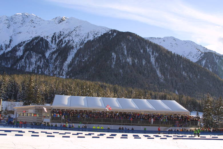 Puchar Świata - Anterselva (Antholz). Te zawody co roku przyciągają tłumy kibiców.