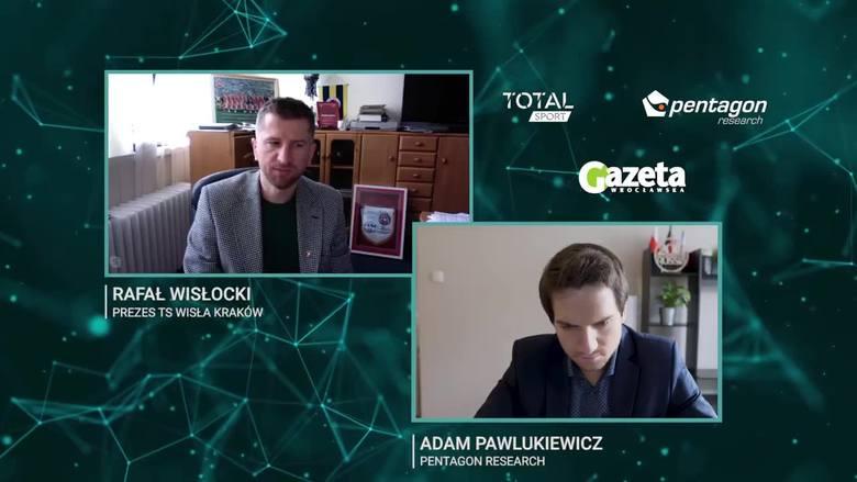 Kto wymyślił Dawida Błaszczykowskiego na prezesa Wisły?! Rafał Wisłocki & Adam Pawlukiewicz. Sport w czasie epidemii VIII (VIDEO)