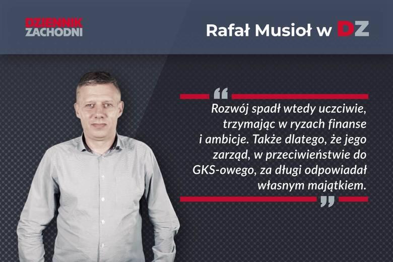 Rafał Musioł: Katowice bezdusznie zwinęły Rozwój [KOMENTARZ]