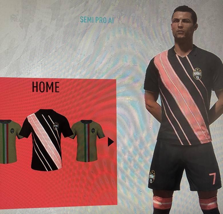 FIFA 20. Tak będą wyglądać stroje Piemonte Calcio?