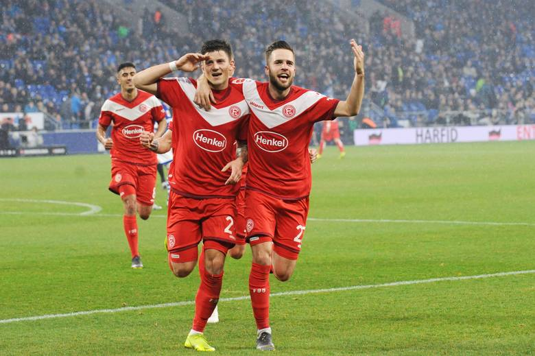 W dotychczasowych czterech ligowych meczach w Fortunie Dawid Kownacki strzelił dwa gole.