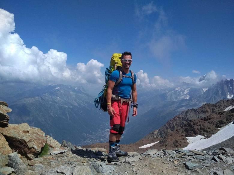 Dr hab. Sławomir Drozd z Uniwersytetu Rzeszowskiego zdobył szczyt Mont Blanc