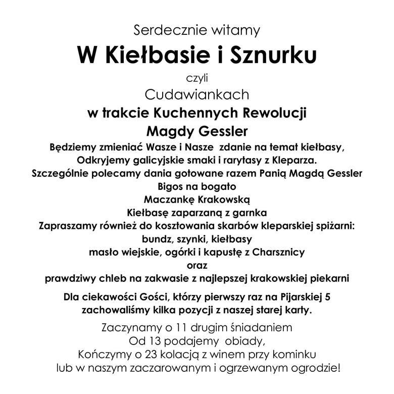 Kuchenne Rewolucje w Krakowie. Cudawianki to Kiełbasa i sznurek. Najbardziej ognista rewolucja? [odcinek 2, sezon 17] 1.03.2018 r.