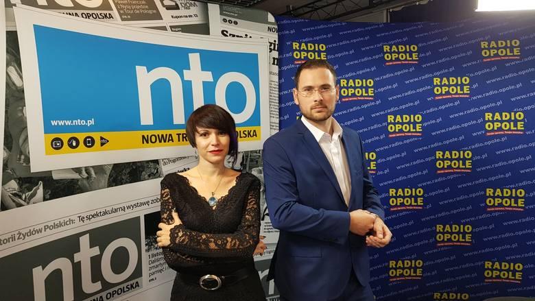 Mirela Mazurkiewicz i Radosław Dimitrow - dziennikarze NTO (na zdjęciu) poprowadzą wieczór wyborczy wspólnie z Anetą Skomorowską-Kobzą i Markiem Świerczem