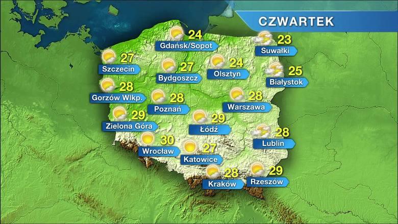 W czwartek bardzo ciepło i słonecznie. A jaki będzie weekend? [WIDEO]