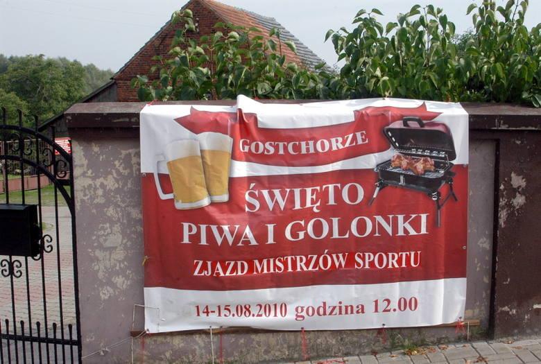 Święto Piwa i Golonki w Gostchorzu