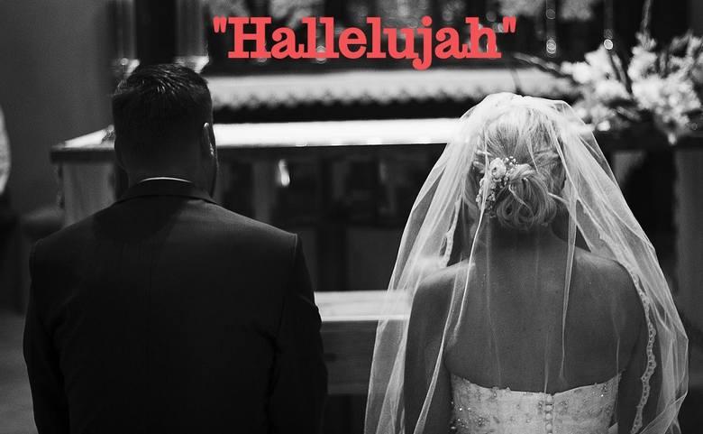 """Ta informacja z pewnością nie ucieszy wielu przyszłych małżonków. """"Hallelujah"""" Leonarda Cohena to jedna z najpopularniejszych piosenek"""