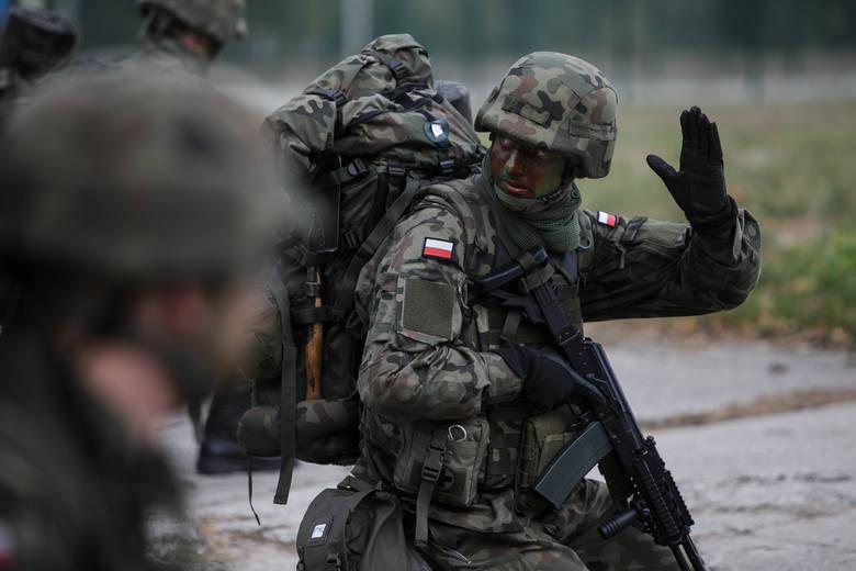 """Terytorialsi w sobotę rozpoczęli tzw. """"szesnastkę"""" czyli 16-dniowe szkoleni podstawowe."""
