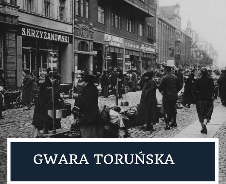 Gwara toruńska. Co jakiś czas przypominamy słowa, które kiedyś były w obiegu w Toruniu i regionie. Korzystamy z pomocy znanego regionalisty Dariusza