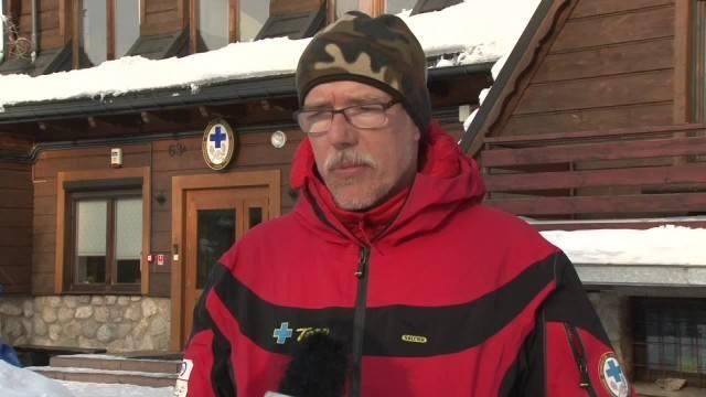 Tragiczny finał wyprawy do Doliny Pięciu Stawów w Tatrach. Nie żyje turysta [WIDEO]