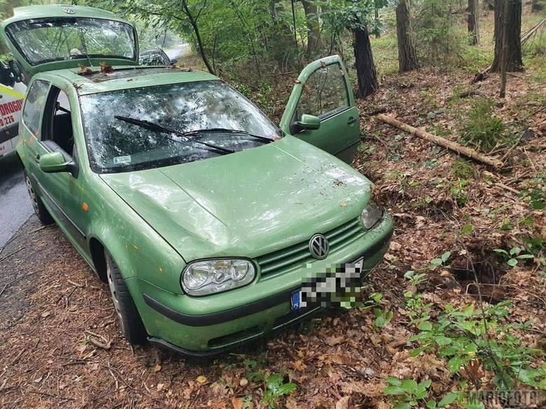 Wypadek między Kadłubem a Krasiejowem. Ranna kobieta