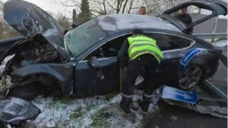 Petter Northug, multimedalista olimpijski pijany rozbił auto i uciekł z miejsca wypadku (wideo)