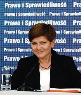 Ekonomistka - Beata Szydło Fot. Radek Pietruszka/PAP