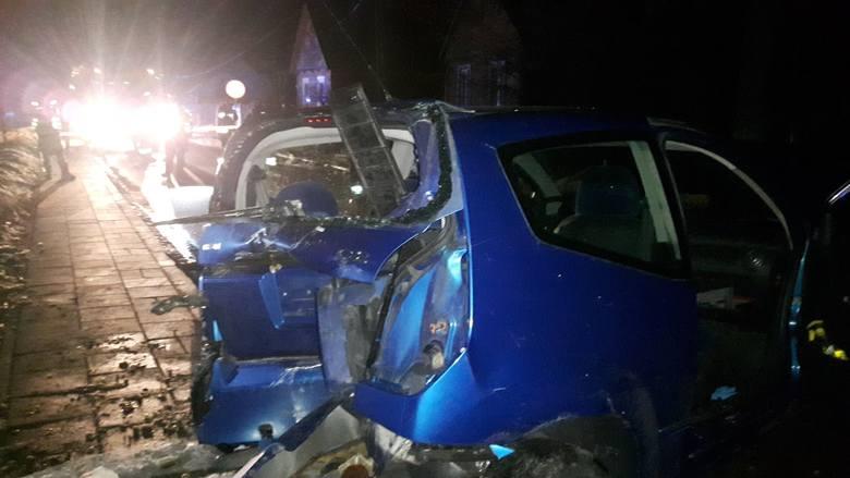 W nocy z soboty na niedzielę, po godz. 23, w miejscowości Rogowo doszło do wypadku.