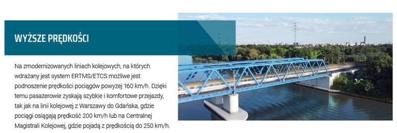 Co ERTMS oznacza dla pasażerów?