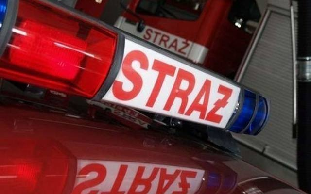 Pożar wybuchł na jednej z posesji w Nowej Woli Gołębiowskiej.