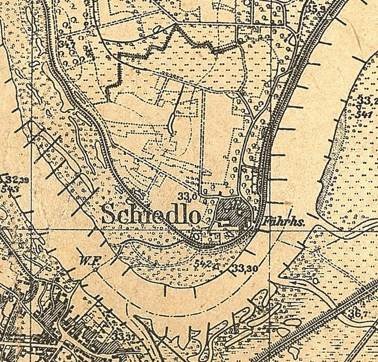 Mapa Szydłowa