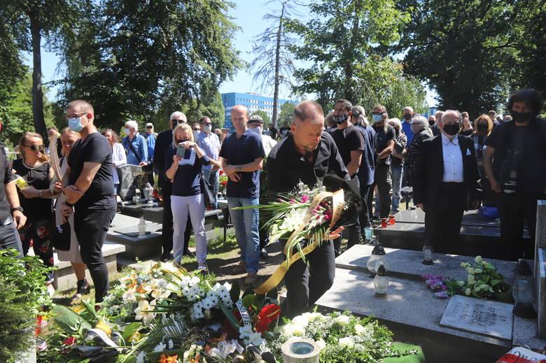 Pogrzeb Michała Giercuszkiewicza w Katowicach, 31 lipca 2020.Zobacz kolejne zdjęcia. Przesuwaj zdjęcia w prawo - naciśnij strzałkę lub przycisk NAST