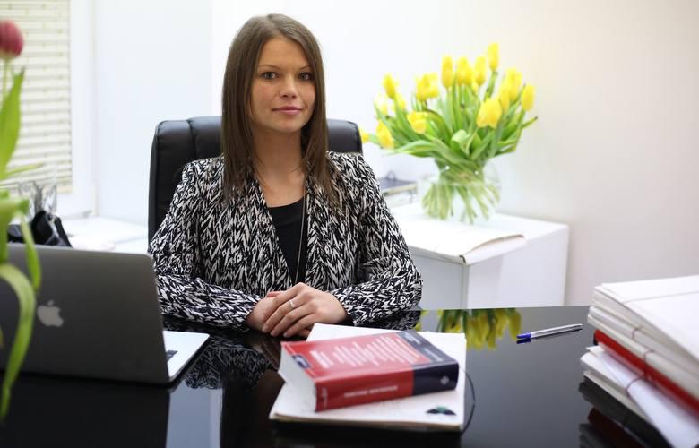 Mecenas Anna Walkiewicz, pełnomocnik poszkodowanej