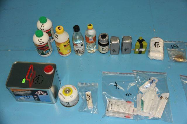 Polskie leki przerabiane w Czechach na narkotyki. 5 osób zatrzymanych za produkcję metamfetaminy